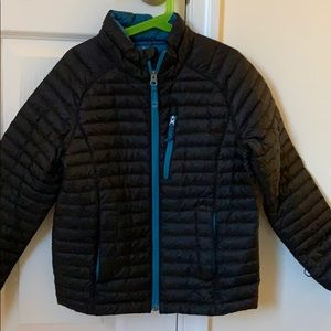 LLBean boys jacket size 8